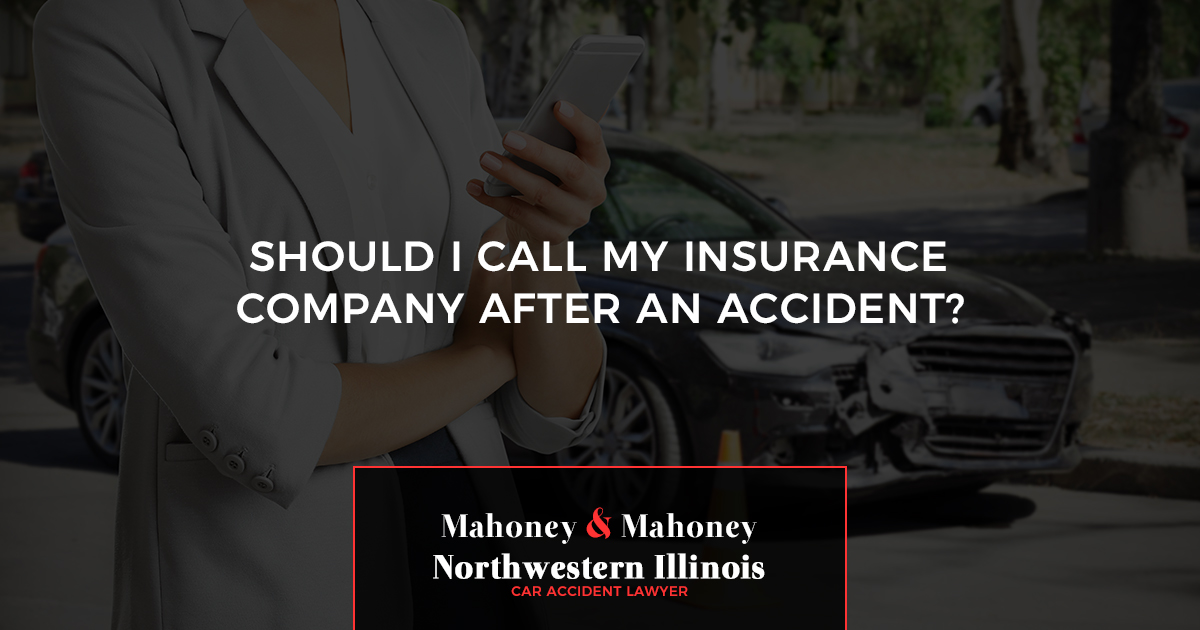 Northwestern Car Insurance >> Should I Call My Insurance Company After An Accident